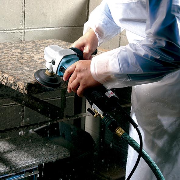 lucidatrice ad acqua per marmo e pavimenti