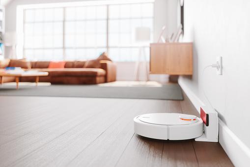 robot per pulire e lavare pavimenti